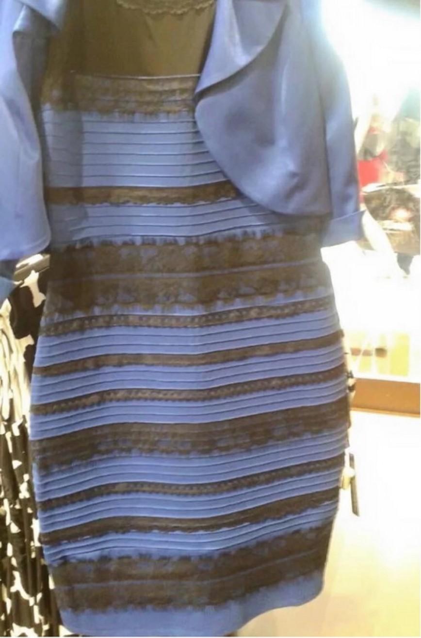 Платье Которое Взорвало Интернет С Меняющимся Цветом