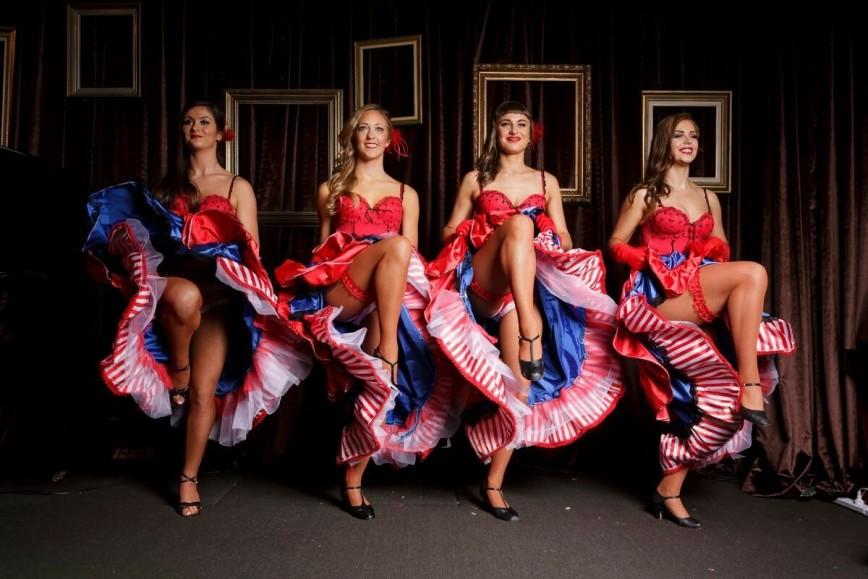 Французские стриптиз танцы